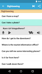 Learn German - DE Translator - screenshot thumbnail