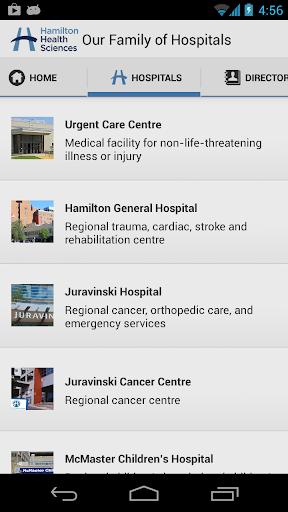 Hamilton Health Sciences HHS