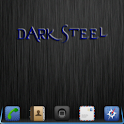 iPhone DarkSteel Lite Go Theme logo