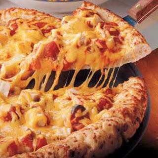 Chicken Salsa Pizza.
