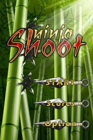 Ninja Shoot- screenshot