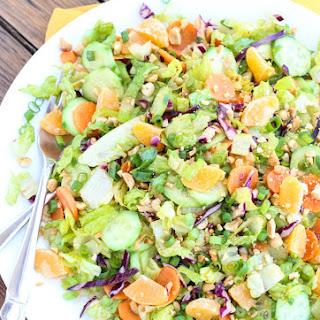 Mandarin Peanut-Crunch Salad.