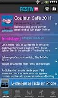 Screenshot of Festiv'App
