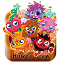 How to Draw Moshi icon