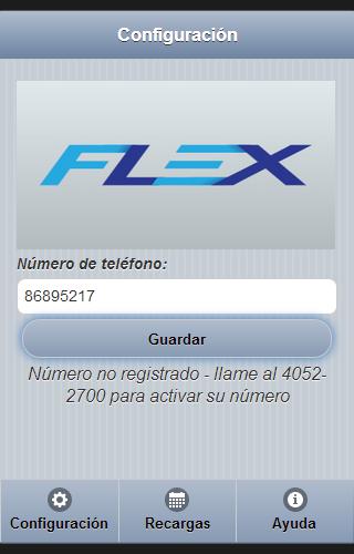 Ahora es Flex