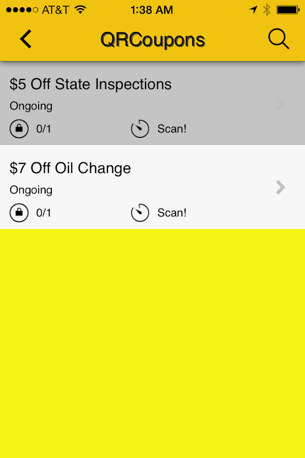 Kwik Kar of Plano Client App- screenshot