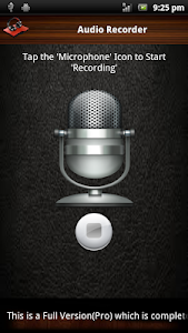 Audio and Video Recorder Lite screenshot 1