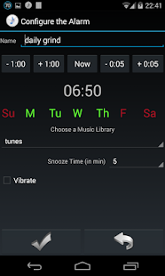 Music Alarm Megalarm Lite- screenshot thumbnail