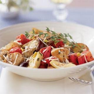 Mediterranean Chicken with Potatoes.
