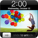 Galaxy S4 iPhone Lock Theme logo