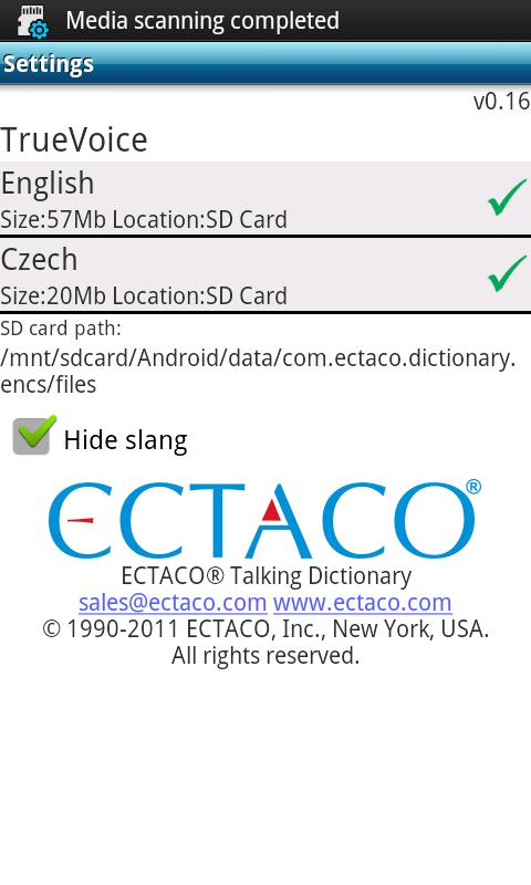 English - Czech Suite - screenshot