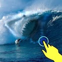Magic wave: Sharks attack lwp icon