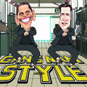 Obama Romney Gangnam Style LWP icon