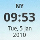 OCMEC Tiny Clock Widget icon