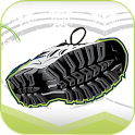 Trainer Run, walk & bike icon