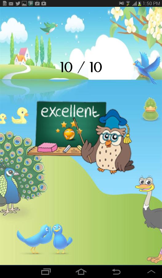 Learning Birds- screenshot