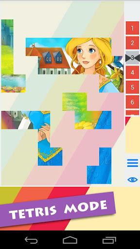 【免費解謎App】Princess Girls Puzzle for kids-APP點子