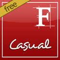 ★ Casual Font - Rooted ★ icon