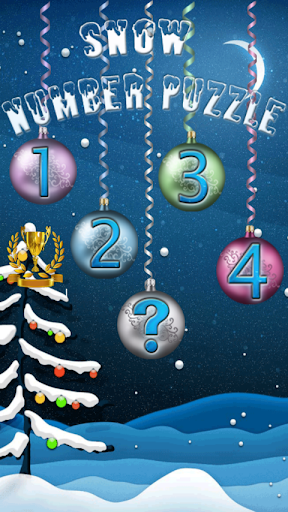 Snow Number Puzzle