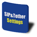 SIP & Tether Settings Shortcut logo