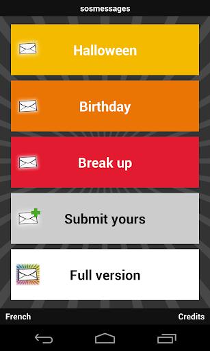 sosmessages birthday breakup