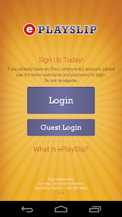 Ohio Lottery ePlayslip- screenshot thumbnail