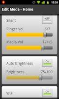 Screenshot of Phone Profiles Pro