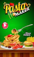 Screenshot of Pasta Maker Cooking Games