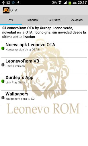 Xorware Leonevo Rom Control
