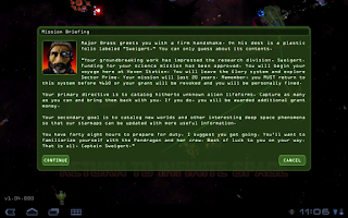 Screenshot of Weird Worlds