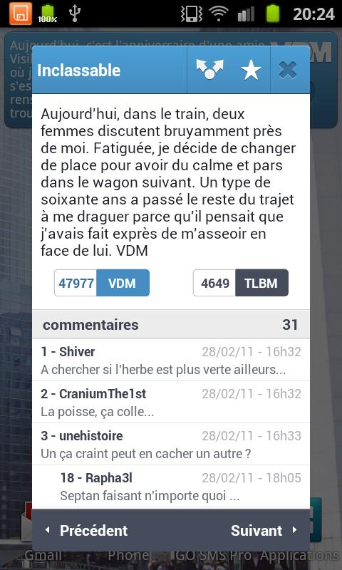 VDM Officiel - screenshot