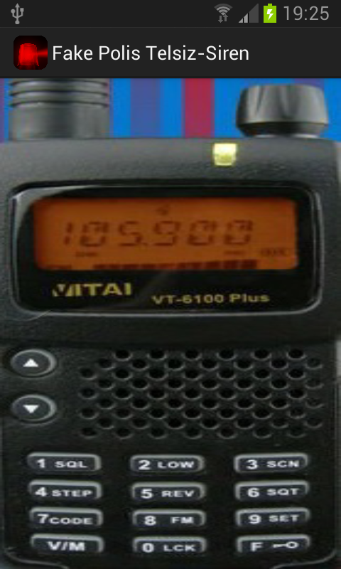 Fake Police Radio-Siren - screenshot