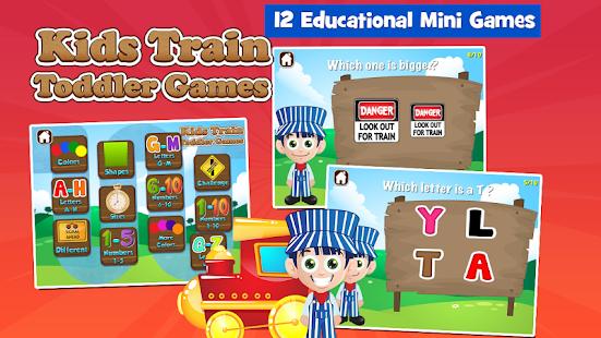 Toddler Train Games