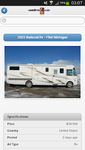 Used RVs For Sale screenshot 3