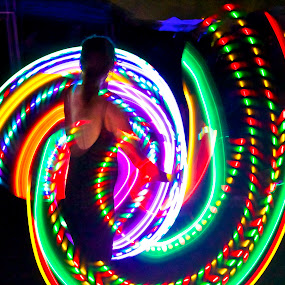 by Brian Schumann - Abstract Light Painting