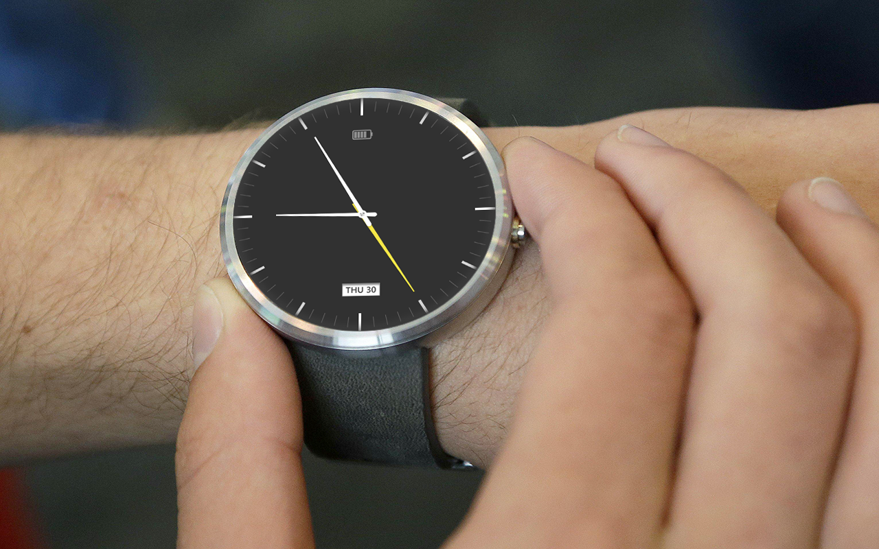 Faces for moto 360 - Prime Watch Face For Moto 360 Screenshot