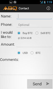 ABQBitcoins Mobile- screenshot thumbnail