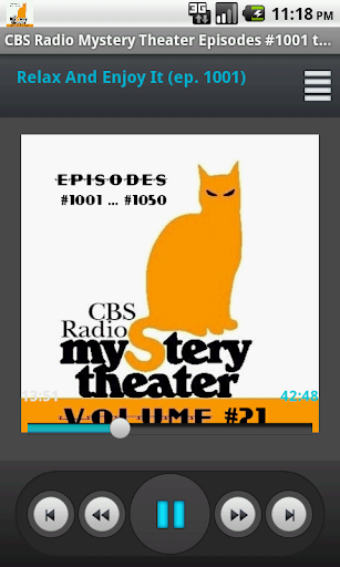 CBS Radio Mystery Theater V.21