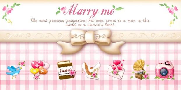 Marry Me ⅡGO Launcher Theme