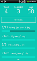 Screenshot of Daily Habit Lite