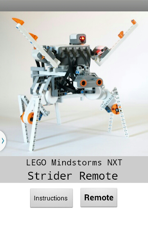 Mindstorms Strider Remote