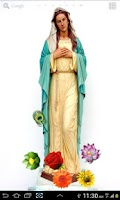 Screenshot of Virgin Mary HD LWP