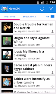 South Africa News- screenshot thumbnail