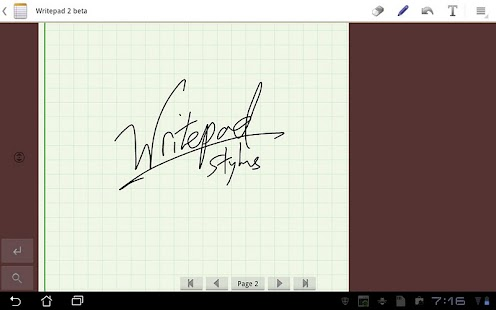 Writepad Stylus - screenshot thumbnail