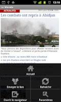 Screenshot of Journaux Français