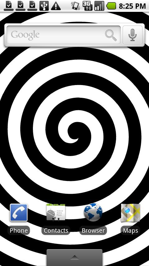 HypnoTwister Live Wallpaper - screenshot