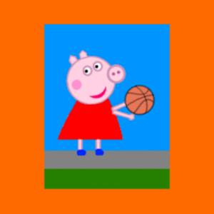Game Peppar Pig Basketball APK