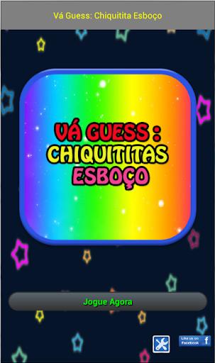 Vá Guess: Chiquitita Esboço 玩益智App免費 玩APPs