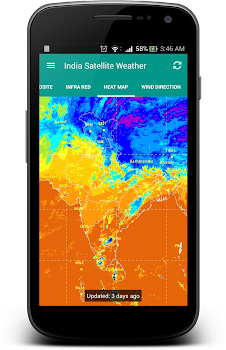 India Satellite Weather