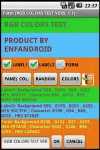 COLORS RGB HEX PANTONE  PRO- screenshot thumbnail